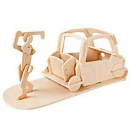 お買い得  -Muwanzi 3Dパズル ジグソーパズル ゴルフおもちゃ ウッド模型 飛行機 有名建造物 家具 ゴルフ アーキテクチャ 3D DIY ウッド クラシック 男女兼用 ギフト