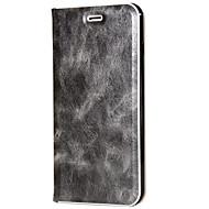 Недорогие Чехлы и кейсы для Galaxy S8-Кейс для Назначение SSamsung Galaxy S8 Plus S8 Бумажник для карт со стендом Покрытие Флип Чехол Сплошной цвет Твердый Кожа PU для S8 Plus