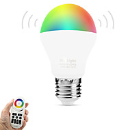 abordables Bombillas LED Inteligentes-6W 600lm E27 Bombillas LED Inteligentes A60(A19) 14 Cuentas LED SMD 5050 Wifi Sensor de infrarrojos Regulable Control de luz Control
