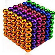 Magnet Toys Stress Relievers 216 Pieces 5mm Toys Iron(nickel plated) Magnetic Round Gift