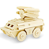 preiswerte Spielzeuge & Spiele-3D - Puzzle Holzpuzzle Holzmodelle Dinosaurier Panzer Flugzeug Streitwagen 3D Heimwerken Hölzern Holz Klassisch Unisex Geschenk