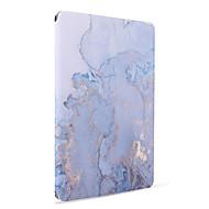 Para apple ipad (2017) air2 capa capa com suporte flip auto sleep / wake up padrão corpo inteiro caso gradiente de cor hard pu couro air