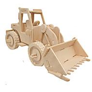 お買い得  おもちゃ & ホビーアクセサリー-3Dパズル ジグソーパズル ウッド模型 車載 シミュレーション DIY ウッド クラシック 建設車両 子供用 成人 男女兼用 ギフト