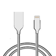 USB 2.0 Normal Kabel Til iPhone iPad cm Aluminium
