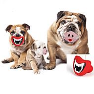 お買い得  -ネコ用噛むおもちゃ 犬用噛むおもちゃ リップ型 ゴム 用途 犬 子犬