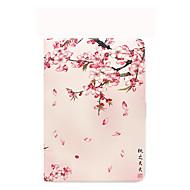 billige Etuier og covers til iPad-Til æble ipad (2017) cover med blomstermønster automatisk søvn / vågne op i fuld krop tilfælde landskab blomst hårdt pu læder