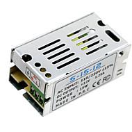 Hkv® 1pcs mini-dimensiune condus de comutare de alimentare 12V 1.25a 15w transformator de iluminat transformator de alimentare ac100v 110v