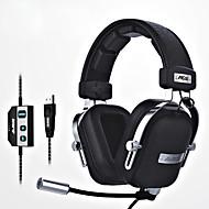 cheap Headsets & Headphones-ajazz-ax300 Headband Wired Headphones Dynamic Aluminum Alloy Fabric Plastic Gaming Earphone Ergonomic Comfort-Fit with Volume Control