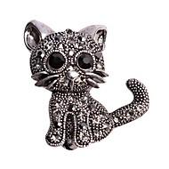 Damen Broschen Tier Design Aleación Tierform Katze Schmuck Für Hochzeit Normal Party Neujahr