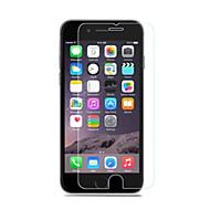 abordables Protectores de Pantalla para iPhone-Protector de pantalla Apple para iPhone 6s iPhone 6 Vidrio Templado 1 pieza Protector de Pantalla Frontal A prueba de explosión Borde