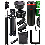 cheap Cell Phone Lens-Mobile Phones Lens 10-in-1 Lens Kit for Smartphone for iPhone 8 7 Samsung Galaxy S8 S7