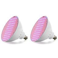 お買い得  グロウライト-18W 2500 lm E27 成長する電球 500 LEDの SMD 2835 ブルー レッド AC85-265V