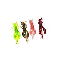 お買い得  釣り用アクセサリー-6 pcs ソフトベイト / エビ プラスチック ベイトキャスティング / スピニング / ジギング / 川釣り / 鯉釣り / ルアー釣り / 一般的な釣り