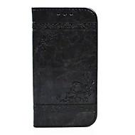 Недорогие Чехлы и кейсы для Galaxy S7 Edge-Кейс для Назначение SSamsung Galaxy S8 Plus S8 Кошелек Бумажник для карт со стендом Флип Рельефный Чехол С сердцем Твердый Искусственная