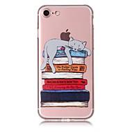 Недорогие Кейсы для iPhone 8 Plus-Кейс для Назначение Apple iPhone X iPhone 8 С узором Кейс на заднюю панель Кот Мягкий ТПУ для iPhone X iPhone 8 Pluss iPhone 8 iPhone 7