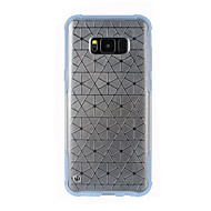 Недорогие Чехлы и кейсы для Galaxy S8-Кейс для Назначение SSamsung Galaxy S8 Plus S8 Вода / Грязь / Надежная защита от повреждений Прозрачный Кейс на заднюю панель Прозрачный