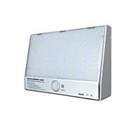 أضواء الشمسية المتكاملة الجدار مصباح 48 ليد الألومنيوم الجسم الاستشعار أضواء