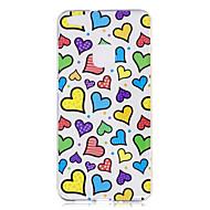 Чехол для huawei p10 p10 lite чехол для крышки любовный узор окрашенный высокий проникающий тпю материал imd процесс мягкий чехол телефон
