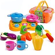 Imposta cucina giocattolo Toy Foods Giocattoli Alimenti Giocattoli Maschio Da ragazza Pezzi