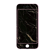 Недорогие Защитные плёнки для экрана iPhone-Защитная плёнка для экрана Apple для iPhone 7 Закаленное стекло 1 ед. Защитная пленка на всё устройство 3D закругленные углы Узор