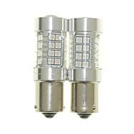 お買い得  -SENCART BAU15S オートバイ 電球 36W SMD 3030 1500-1800lm LED電球 テールライト