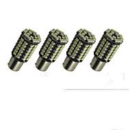 Недорогие Задние фонари-SO.K 4шт 1156 Лампы SMD 3528 300 lm Задний свет For Универсальный