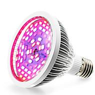 billige Vækstlamper-1pc 1290 lm E27 LED-vækstlampe 78 leds SMD 5730 Varm hvid Rød Blå UV Vekselstrøm 85-265V