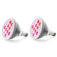 olcso Növényvilágítás-800 lm E27 Növekvő izzók 12 led Nagyteljesítményű LED Piros Kék AC 85-265V