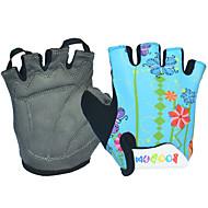저렴한 -BOODUN/SIDEBIKE® 활동/스포츠 장갑 싸이클링 장갑 착용 가능한 통기성 내구성 손가락 없는 라이크라 사이클링 / 자전거 아동