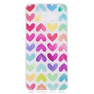 voordelige Galaxy A5(2016) Hoesjes / covers-hoesje Voor Samsung Galaxy A5(2017) A3(2017) IMD Patroon Achterkant Hart Zacht TPU voor A3 (2017) A5 (2017) A5(2016) A3(2016)