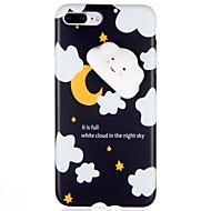 abordables Novedades-Funda Para Apple iPhone 7 Plus iPhone 7 Diseños Blando Manualidades Funda Trasera Dibujo 3D Suave TPU para iPhone 7 Plus iPhone 7 iPhone