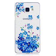 Недорогие Чехлы и кейсы для Galaxy A5(2016)-Кейс для Назначение SSamsung Galaxy A5(2017) A3(2017) IMD Прозрачный С узором Кейс на заднюю панель Цветы Мягкий ТПУ для A3 (2017) A5