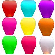 halpa Holiday & Party Kunniamerkit-10 kpl kiinalainen haluavat lamppu kongming latern festivaali