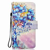 Недорогие Чехлы и кейсы для Galaxy S8-Кейс для Назначение SSamsung Galaxy S8 Plus S8 Бумажник для карт Кошелек со стендом Чехол дерево Твердый Кожа PU для S8 Plus S8 S7 edge S7