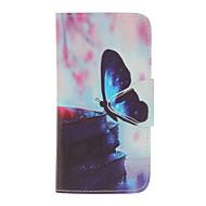 Кейс для Назначение SSamsung Galaxy J5 (2017) J3 (2016) Кошелек Бумажник для карт Защита от удара со стендом Флип Чехол Бабочка Твердый
