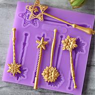 お買い得  キッチン用小物-ベークツール シリコーンゴム / シリカゲル / シリコーン 焦げ付き防止 / ベーキングツール / 3D クッキー / チョコレート / 調理器具のための ケーキ型