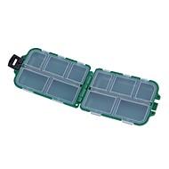 abordables Cajas para Pesca-Caja de pesca Caja de equipamiento Impermeable El plastico 9.5*6 cm*3