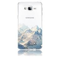 voordelige Galaxy J-serie hoesjes / covers-hoesje Voor Samsung Galaxy J7 (2017) J3 (2017) Transparant Patroon Achterkant Landschap Zacht TPU voor J7 V J7 Perx J7 (2017) J7 (2016)