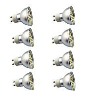 8 pcs 3W GU10 LED Spotlight 29 leds SMD 5050 Decorative Warm White Cold White 350lm 3000-7000K AC220V