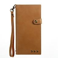 pokrowiec na etui pokrowiec na banknoty portfel z podstawką magnetyczną pełną obudowę pokrowiec solidny kolor twardy pu skóra na sony Sony