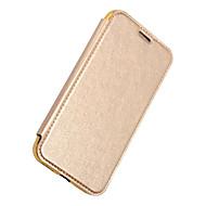 Недорогие Кейсы для iPhone 8-Кейс для Назначение Apple iPhone X iPhone X iPhone 8 iPhone 8 Plus Бумажник для карт Кошелек Покрытие Флип Чехол Сплошной цвет Твердый