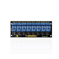 keyestudio 8-kanava 5v rele moduuli arduino kuva avr mcu dsp arm sähköinen