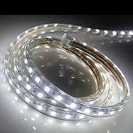 1m higt luminos a condus benzi de lumină flexibile 5050 smd trei cristal lumini de gradina lumina bar rezistent la apă, cu priza de putere