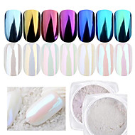 1Bottle Nail Beauty DIY Shining Mirror Pearl Glitter Powder Decoration For Nail Beauty Manicure Chrome Pigment