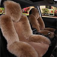 cheap Car Seat Covers-1PC Car Australian Sheepskin Front Seat Cover
