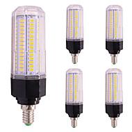 Χαμηλού Κόστους Λαμπτήρες LED τύπου Corn-5pcs 12W 1000 lm LED Λάμπες Καλαμπόκι T 126 leds SMD 5730 Θερμό Λευκό Ψυχρό Λευκό AC85-265