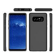 Недорогие Чехлы и кейсы для Galaxy Note-Кейс для Назначение SSamsung Galaxy Note 8 Матовое Кейс на заднюю панель Сплошной цвет Твердый ПК для Note 8