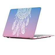"MacBook Hoes voor MacBook Air 13"" MacBook Air 11"" MacBook Pro 13'' met Retina-scherm Dromenvanger Veren TPU Materiaal"