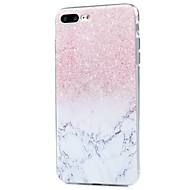 Για iPhone X iPhone 8 Θήκες Καλύμματα Εξαιρετικά λεπτή Με σχέδια Πίσω Κάλυμμα tok Λάμψη γκλίτερ Μάρμαρο Μαλακή TPU για Apple iPhone X