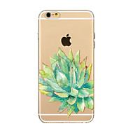 Недорогие Кейсы для iPhone 8 Plus-Кейс для Назначение Apple iPhone X iPhone 8 Прозрачный С узором Кейс на заднюю панель дерево Мягкий ТПУ для iPhone X iPhone 8 Pluss